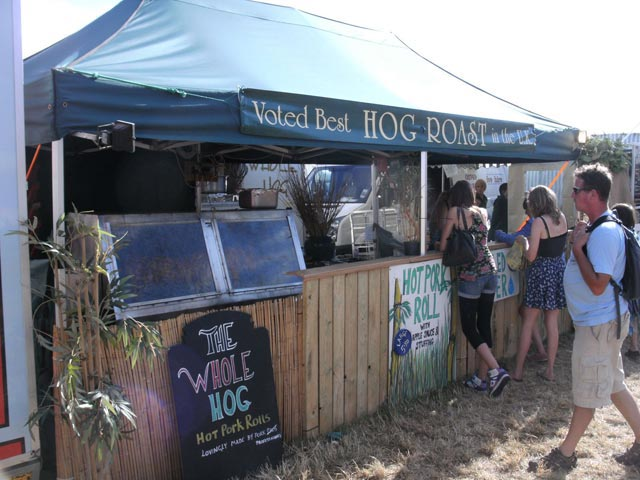 Hog Roast at Festival