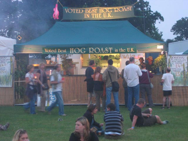 Whole Hog at Isle of Wight Festival