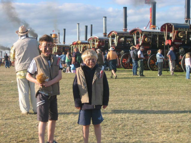At the Great Dorset Steam Fair